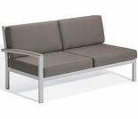 Oxford Garden Travira Right Arm Loveseat Sectional Unit