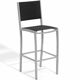 Oxford Garden Travira Sling Bar Chair - Sling Color Options - Additional Spring Discounts