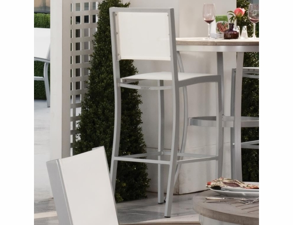 Oxford Garden Travira Sling Bar Chair - Sling Color Options