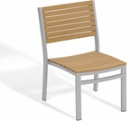 Oxford Garden Travira Teak Side Chair (Set of 2) - Reduced Closeout Pricing