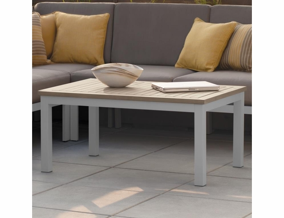 Oxford Garden Travira Tekwood Top Coffee Table - Summer Sale Event Additional Discounts
