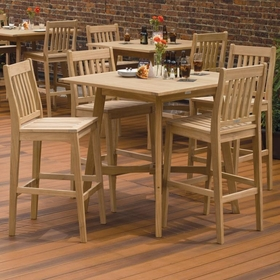 Oxford Garden Wexford Shorea Bar Set - Additional Spring Discounts