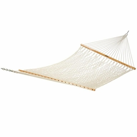 Pawleys Island Large Deluxe Cotton Rope Hammock