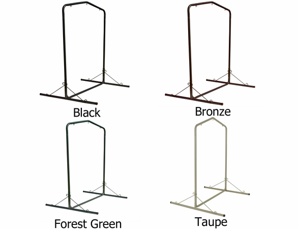 Pawleys Island Large Steel Single Swing Hammock Stand