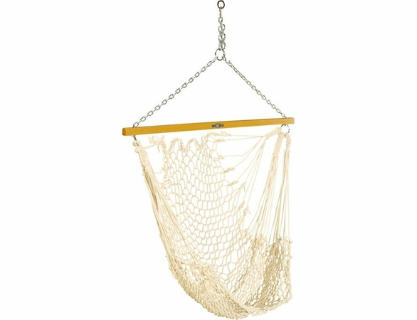 Pawleys Island Single Cotton Rope Swing Hammock