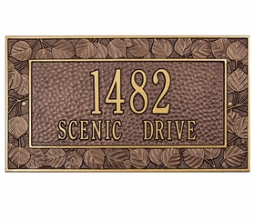 Personalized Aspen Frame Plaque