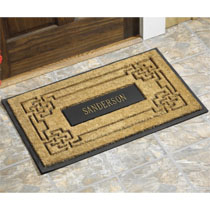 Personalized Coir Doormat Outdoorfurnitureplus Com