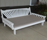 Pine Fanback Daybed
