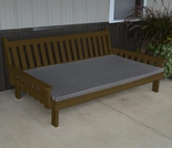 Pine Traditional English Daybed
