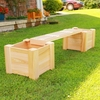 Planter Bench Set - Plus Extension Sets - Exclusive item - Not Currently Available
