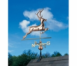 Copper Deer Weathervane - Polished or Verdi