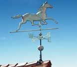 Copper Horse Weathervane