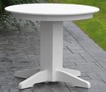"Polyresin 33"" Round Dining Table"