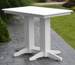 Polyresin 4' Bar Table