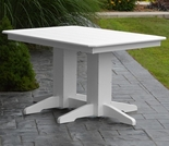 Polyresin 4' Dining Table