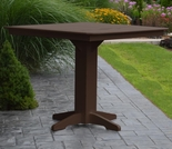 "Polyresin 44"" Square Bar Table"