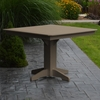 "Polyresin 44"" Square Dining Table"