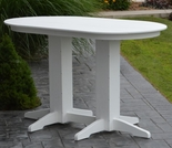 Polyresin 5' Oval Bar Table