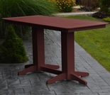 Polyresin 6' Bar Table