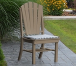 Polyresin Adirondack Dining Chair