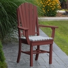 Polyresin Adirondack Dining Chair w/ Arms