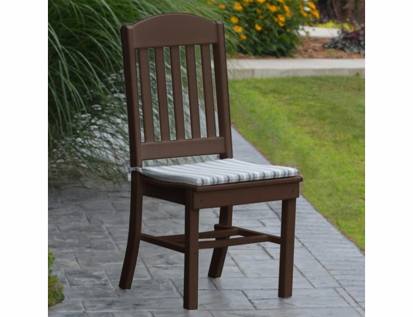 Polyresin Classic Dining Chair