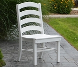 Polyresin Ladderback Dining Chair
