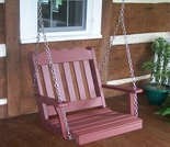 Polyresin Royal English Chair Swing