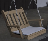 Polyresin Traditional English Chair Swing