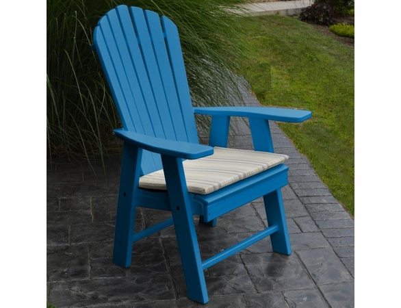 Polyresin Upright Adirondack Chair