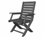"POLYWOOD® Captain 39"" Dining Chair"