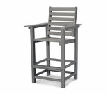"POLYWOOD® Captain 49"" Bar Chair"