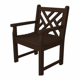 "POLYWOOD® Chippendale Garden 35"" Arm Chair"