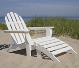 POLYWOOD® Classic Adirondack Chair 2 Piece Set