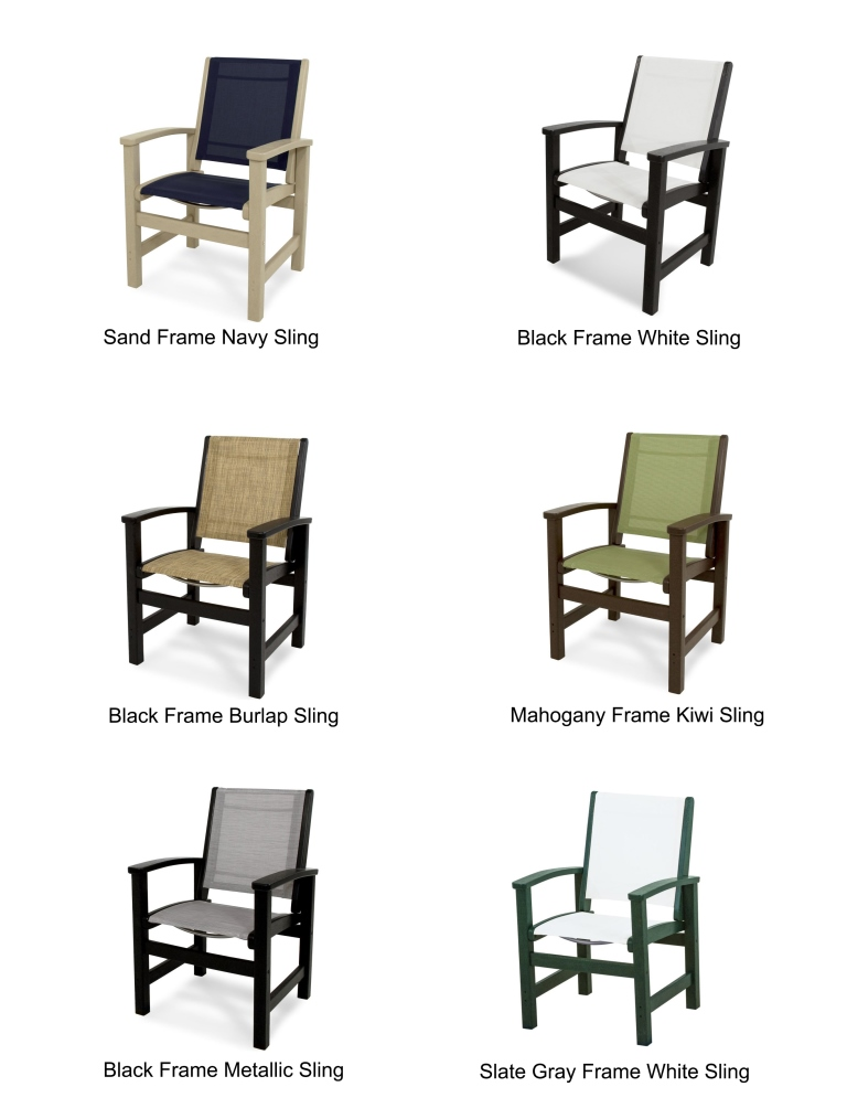 Stupendous Polywood Coastal 36 Dining Chair Dailytribune Chair Design For Home Dailytribuneorg