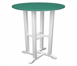 "POLYWOOD® Contempo 24"" Round Bar Table"