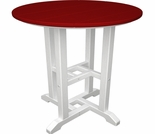 "POLYWOOD® Contempo 24"" Round Dining Table"