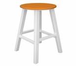"POLYWOOD® Contempo 30"" Round Bar Stool"