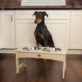 POLYWOOD® Elevated Dog Bowl Holder