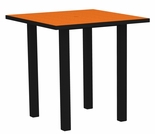 "POLYWOOD® Euro 36"" Square Bar Table"