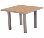 "POLYWOOD® Euro 36"" Square Dining Table"