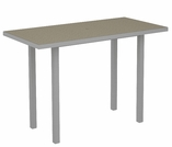 "POLYWOOD® Euro 36"" x 72"" Counter Table"