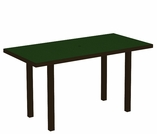 "POLYWOOD® Euro 36"" x 72"" Dining Table"