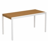"POLYWOOD® Harvest 40"" x 78"" Dining Table"