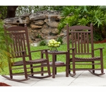 POLYWOOD® Jefferson Rocking Chair 3 Piece Set