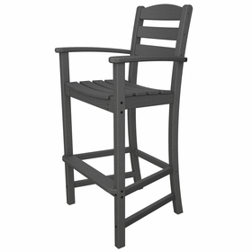 POLYWOOD® La Casa Cafe Bar Height Arm Chair