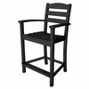 POLYWOOD® La Casa Cafe Counter Height Arm Chair