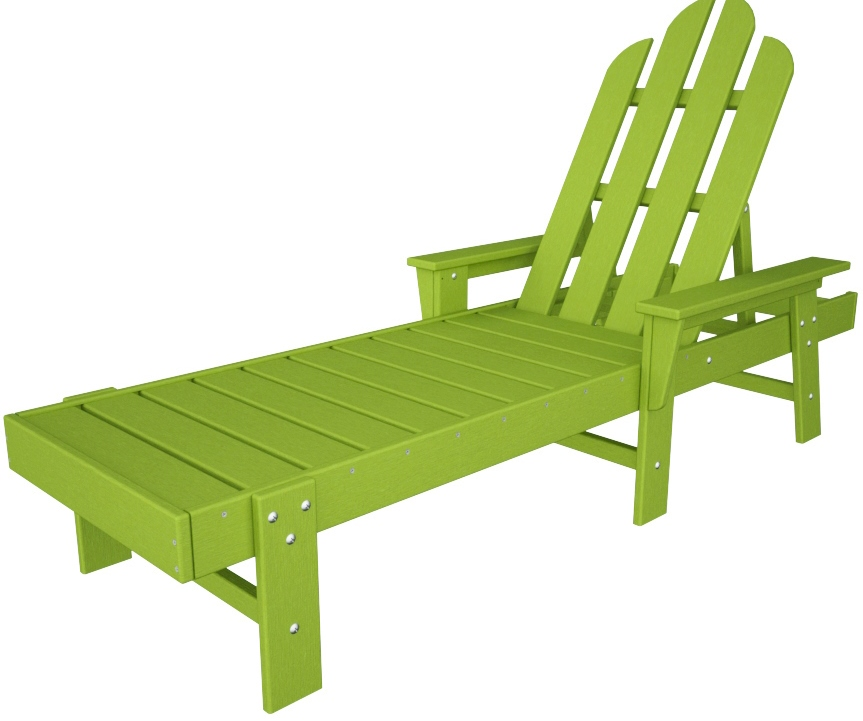 Patio Furniture In Long Island: POLYWOOD® Long Island Polyresin Chaise