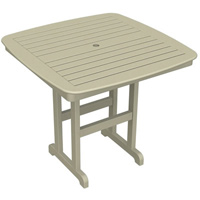 "POLYWOOD® Nautical 44"" Counter Table"