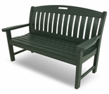 "POLYWOOD® Nautical 48"" Bench"